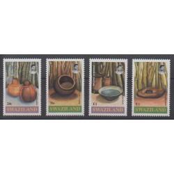 Swaziland - 1993 - No 614/617 - Artisanat ou métiers