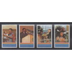 Swaziland - 1993 - Nb 618/621