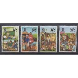 Swaziland - 1994 - Nb 626/629