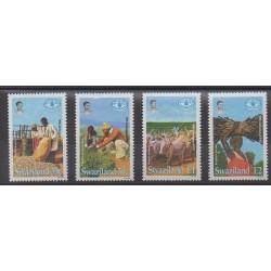 Swaziland - 1995 - No 642/645 - Artisanat ou métiers