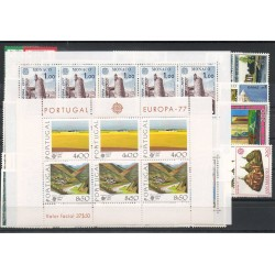 timbres - Europa - 1977