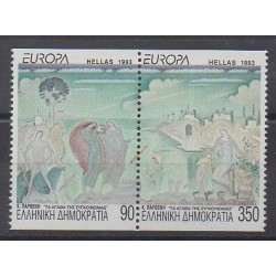 Greece - 1993 - Nb 1819/1820 - Paintings - Europa
