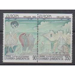 Grèce - 1993 - No 1819/1820 - Peinture - Europa