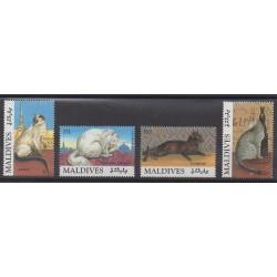 Maldives - 1994 - No 1808/1811 - Chats