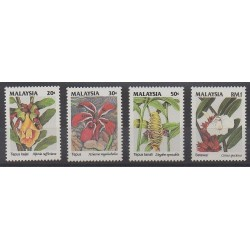 Malaysia - 1993 - Nb 506/509 - Flowers
