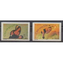 France - Autoadhésifs - 2004 - No 3634/3635