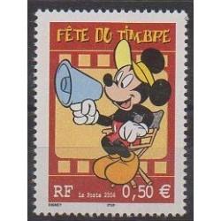 France - Poste - 2004 - Nb 3641 - Walt Disney - Philately