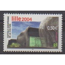 France - Poste - 2004 - Nb 3638 - Architecture