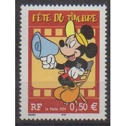 France - Poste - 2004 - Nb 3641a - Walt Disney - Philately