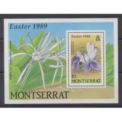 Montserrat - 1989 - No BF49 - Fleurs