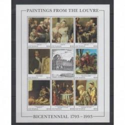 Guyana - 1993 - No 3124/3131 - Peinture