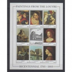 Guyana - 1993 - No 3132/3139 - Peinture