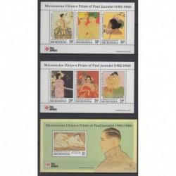 Micronesia - 1991 - Nb BF10/BF12 - Paintings
