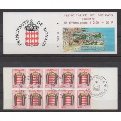 Monaco - 1988 - Nb C2 - Used
