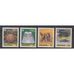 Moldavie - 1999 - No 278/281 - Artisanat ou métiers