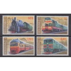 Moldavie - 2005 - No 438/441 - Chemins de fer