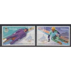 Moldavie - 2006 - No 461/462 - Jeux olympiques d'hiver