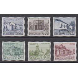 Moldavie - 2006 - No 463/468 - Monuments