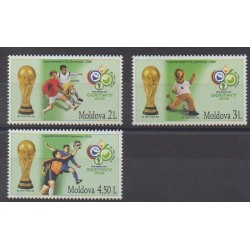 Moldova - 2006 - Nb 477/479 - Soccer World Cup