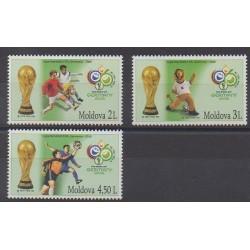 Moldavie - 2006 - No 477/479 - Coupe du monde de football