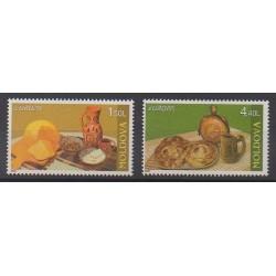 Moldova - 2005 - Nb 442/443 - Gastronomy - Europa