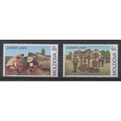 Moldavie - 2004 - No 422/423 - Europa