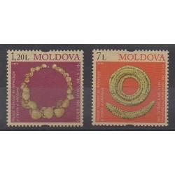 Moldavie - 2010 - No 604/605 - Art