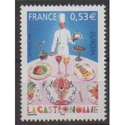 France - Poste - 2005 - Nb 3784 - Gastronomy - Europa