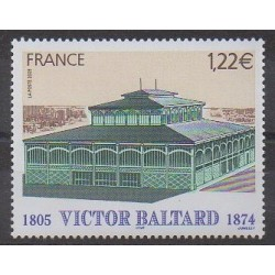 France - Poste - 2005 - Nb 3824 - Architecture