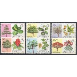 Anguilla - 1976- No 198/203 - Fleurs