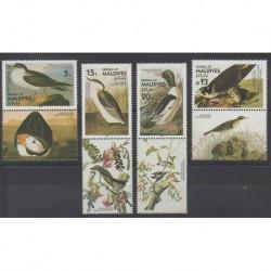 Maldives - 1986 - No 1094/1097 - Oiseaux