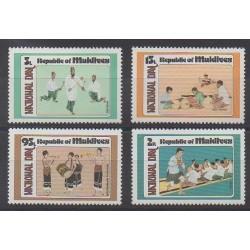 Maldives - 1980 - No 794/797 - Folklore