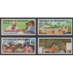 Maldives - 1982 - No 911/914