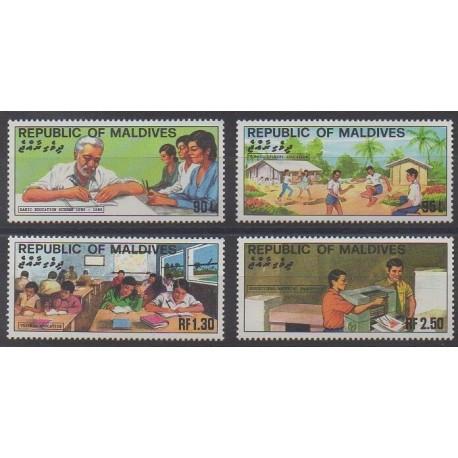 Maldives - 1982 - Nb 911/914