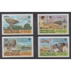 Maldives - 1983 - No 929/932 - Télécommunications