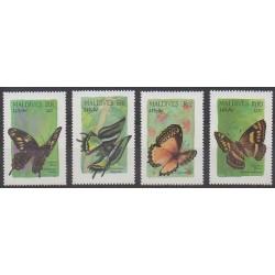 Maldives - 1987 - No 1134/1137 - Insectes