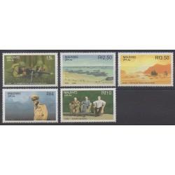 Maldives - 1990 - No 1271/1275 - Seconde Guerre Mondiale
