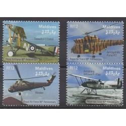 Maldives - 2008 - No 3875/3878 - Aviation - Hélicoptères