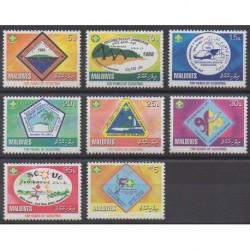 Maldives - 2008 - Nb 3857/3864 - Scouts