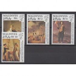 Maldives - 1989 - Nb 1236/1239 - French Revolution