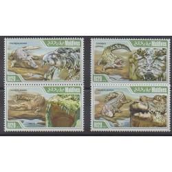 Maldives - 2013 - Nb 4079/4082 - Reptils