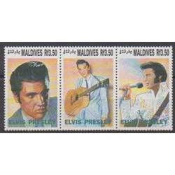 Maldives - 1992 - Nb 1563/1565 - Music