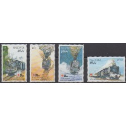 Maldives - 1991 - No 1360/1363 - Chemins de fer