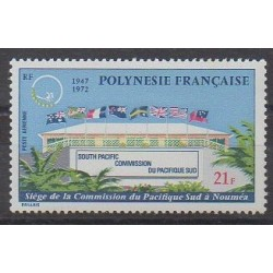 Polynesia - Airmail - 1972 - Nb PA62