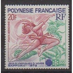 Polynesia - Airmail - 1972 - Nb PA61 - Winter Olympics