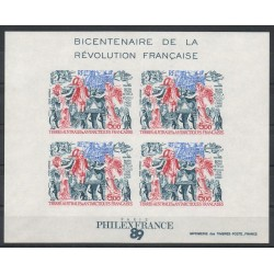 French Southern and Antarctic Lands - Blocks and sheets - 1989- Nb BF 1 ND