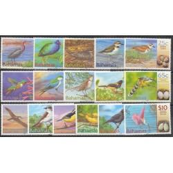 Bahamas - 2001- No 1070/1085 - Oiseaux