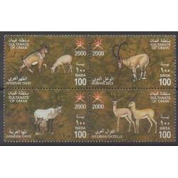 Oman - 2000 - No 453/456 - Mammifères