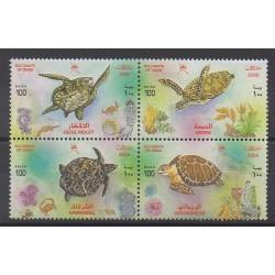 Oman - 2002 - No 487/490 - Reptiles