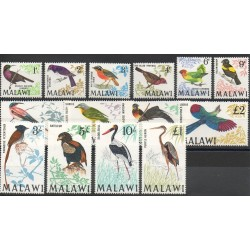 Malawi - 1968 - No 92/105 - Oiseaux